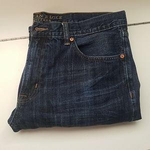 Mens AE Bootcut Jeans
